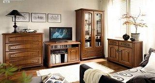 Rustikální nábytek z masivního dřeva