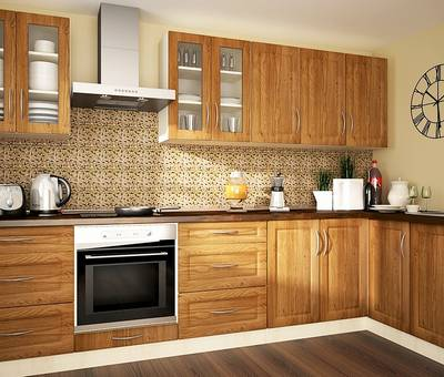 Kuchyně GOLD LUX mat - 2 barvy dvířek