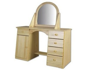 Zrcadla a toaletky z masivu