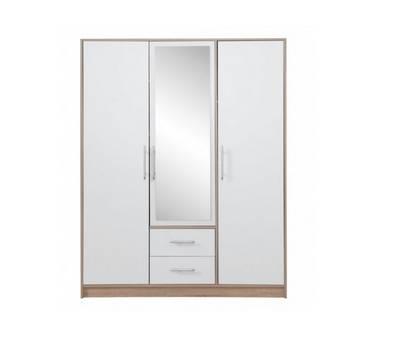 Šatní skříně se zrcadlem