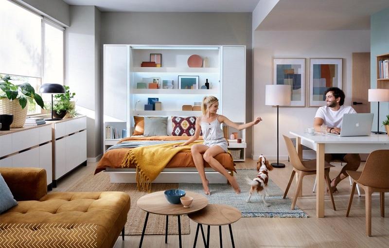 Bed Concept – ideální sklápěcí postel do malého pokoje