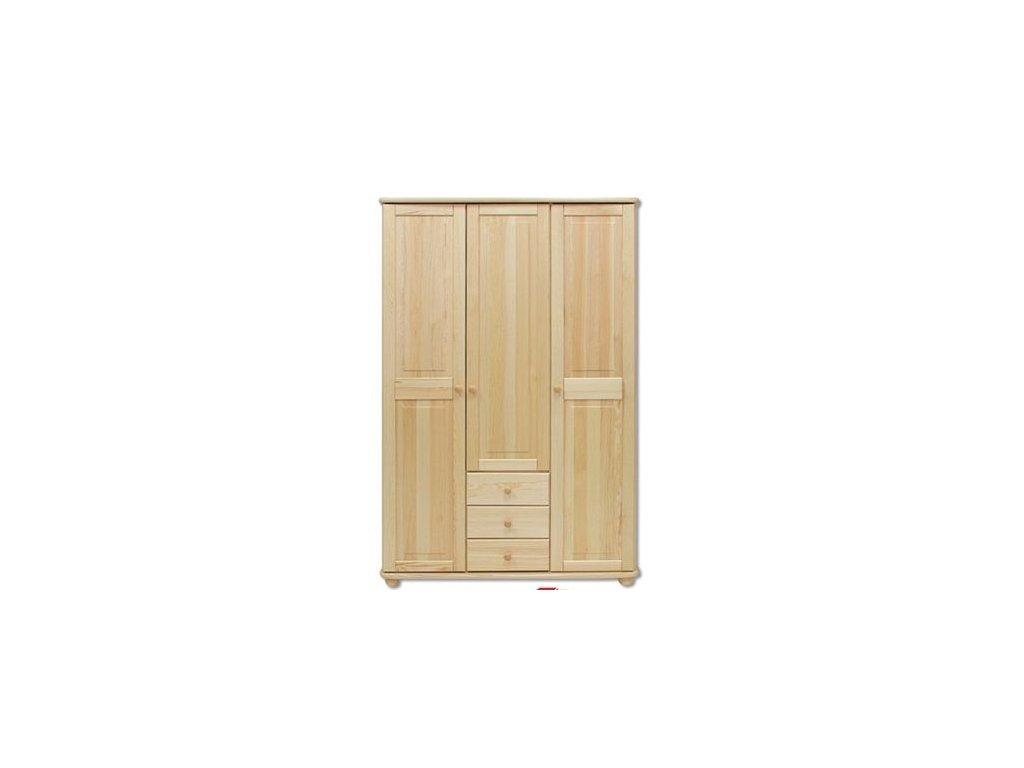 Skříň dřevěná SF 101 borovice masiv