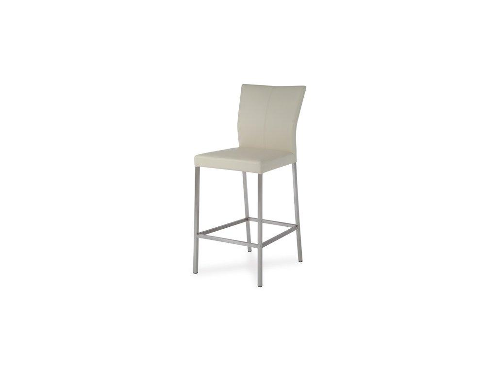 Barová židle BE6034 vanilka