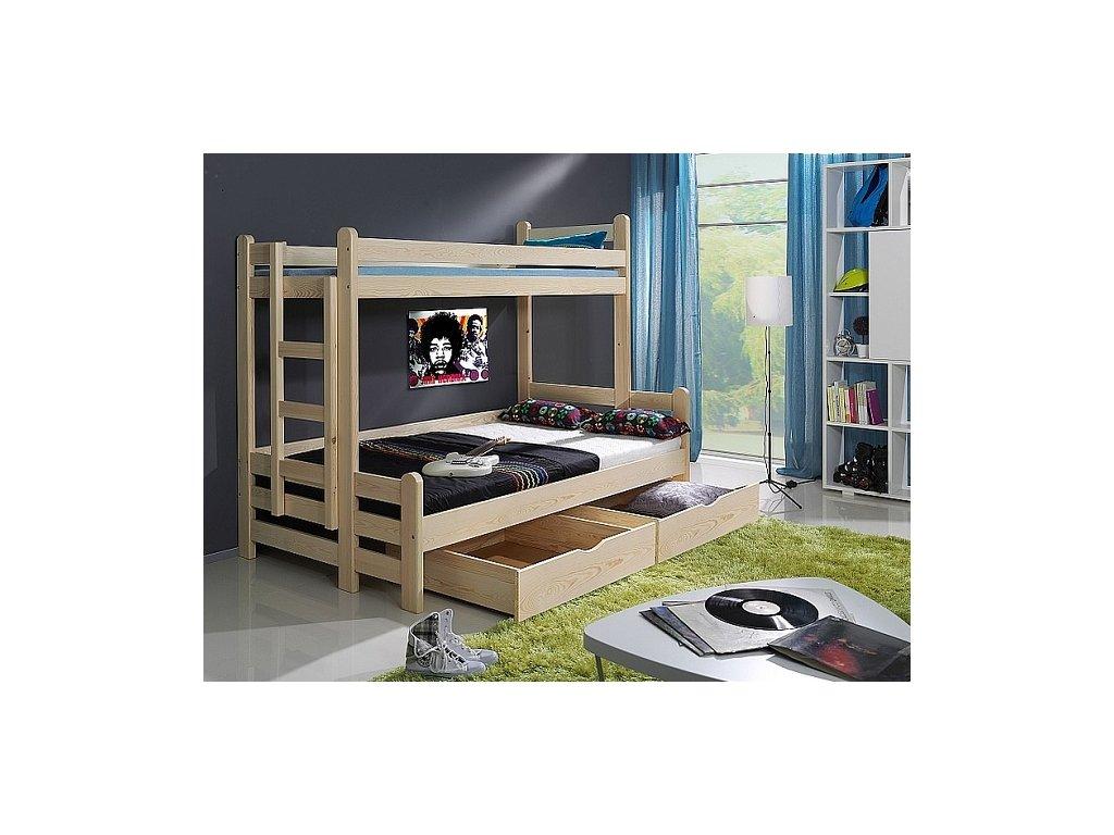 Dětská patrová postel BENJAMÍN