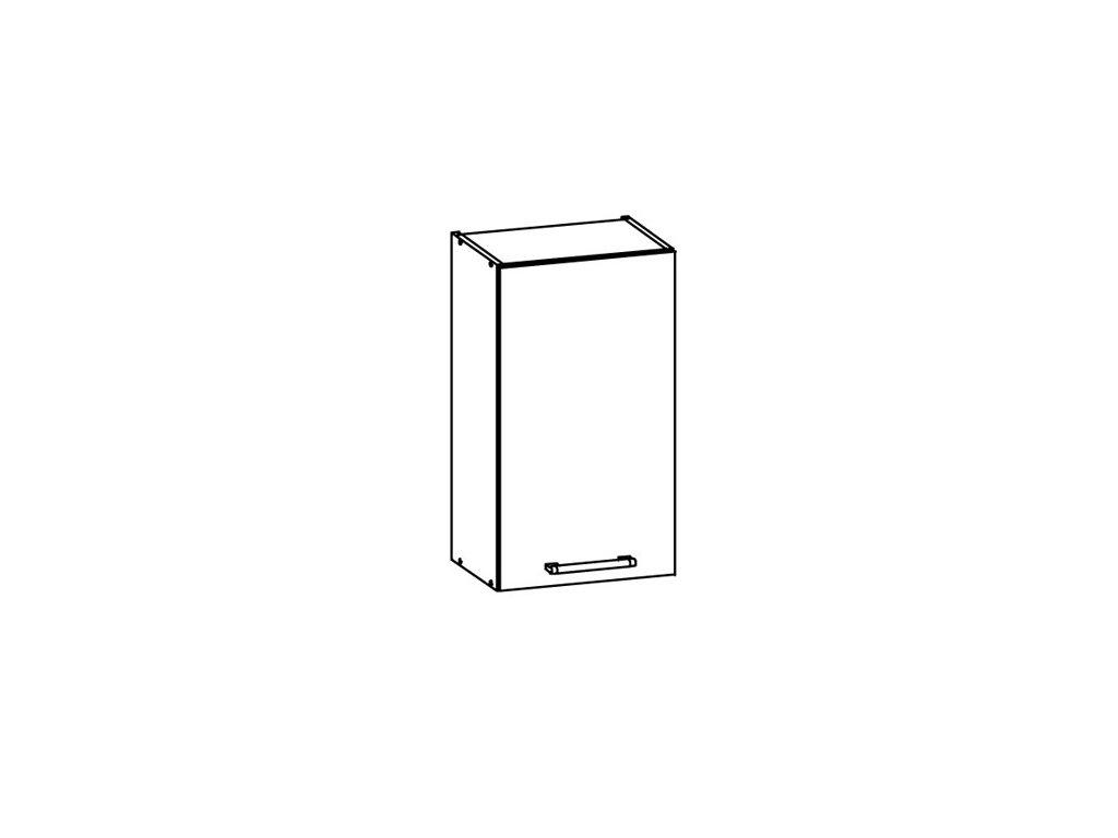Horní skříňka LP 40 MODENA MD3/G40