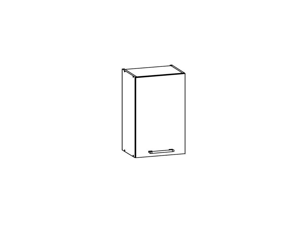 Horní skříňka LP 45 MODENA MD4/G45