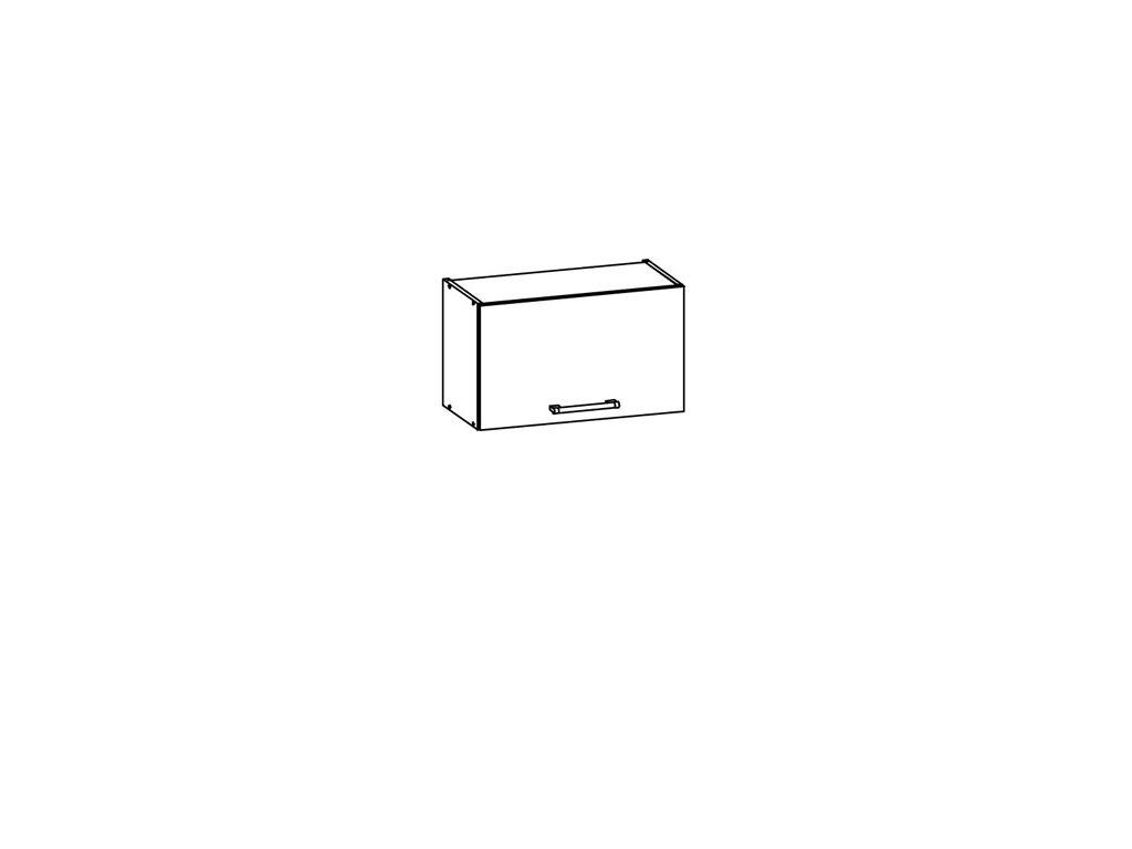 Horní skříňka digestořová 60 MODENA MD7/G60o