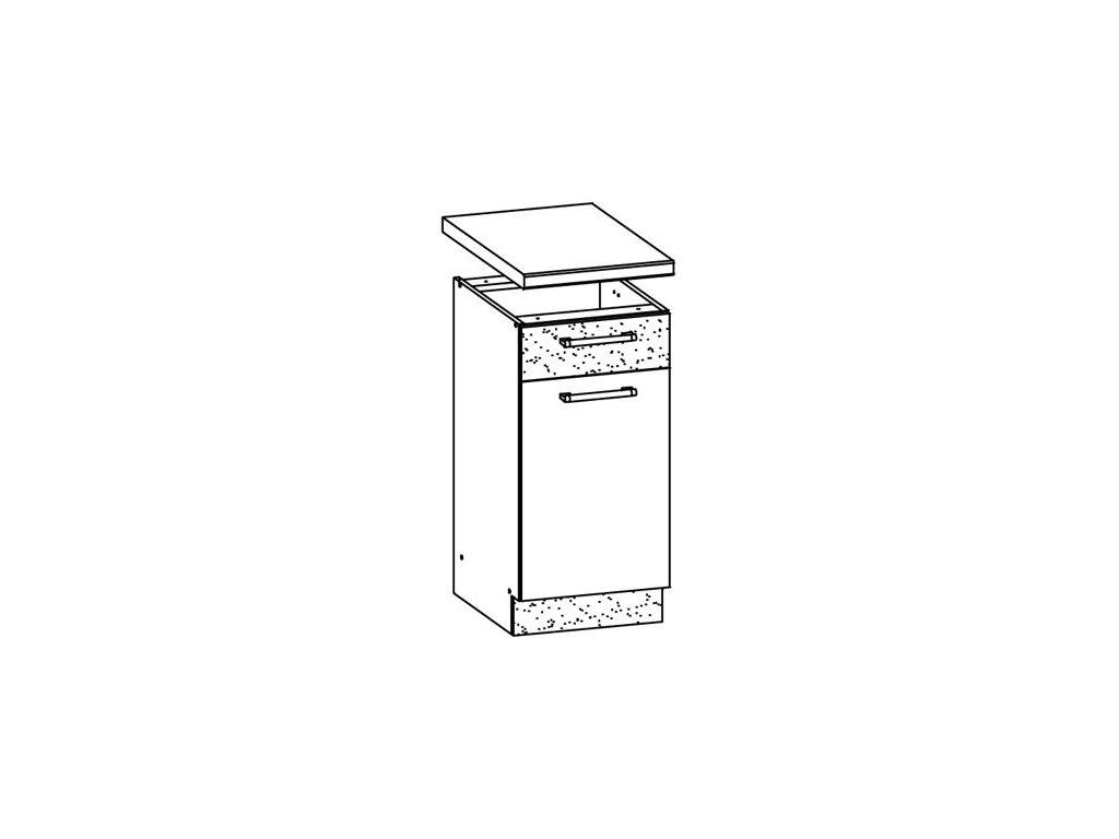 Dolní skříňka LP 40 MODENA MD13/D40S1