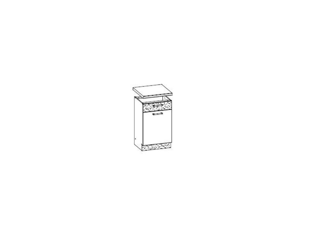 Dolní skříňka LP 50 MODENA MD15/D50S1