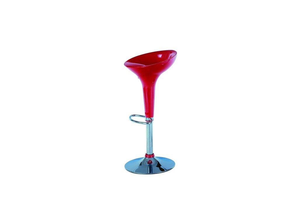 Barová židle AUB-9002 red