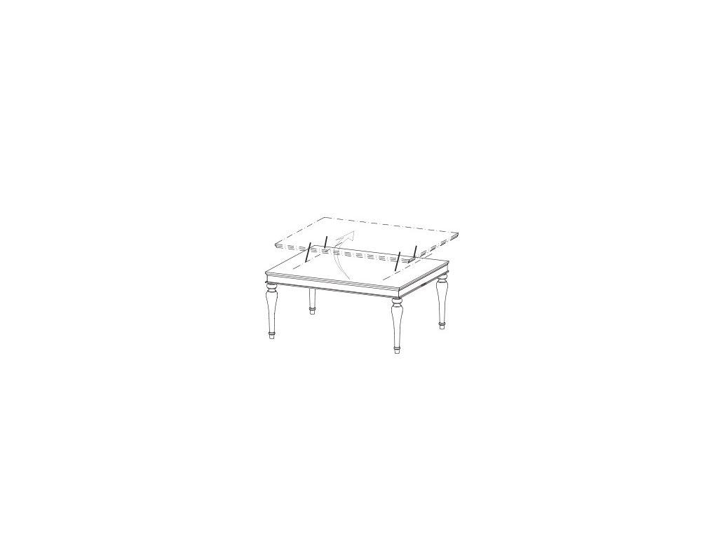 Konferenční stolek FLORENCIE FL-S3
