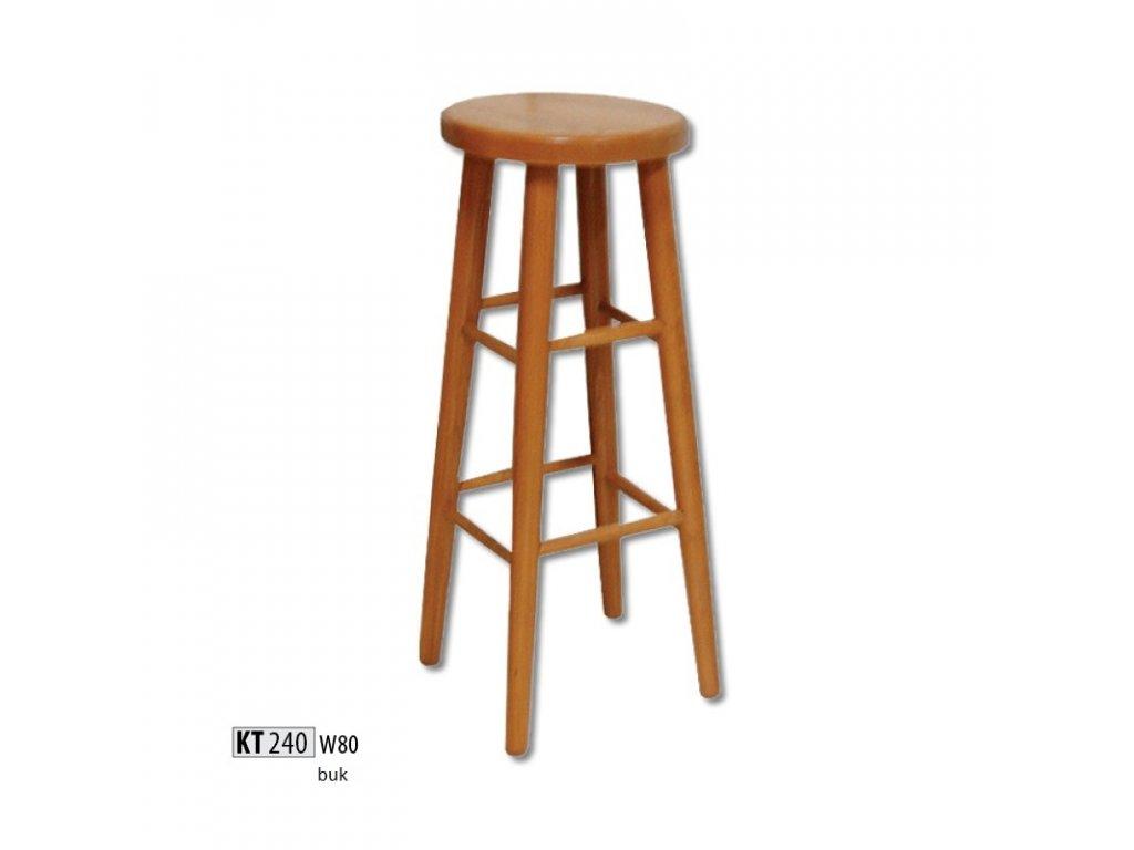 Barová židle KT 240 buk masiv
