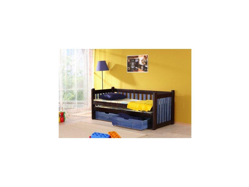 Dětská postel FILIP s přistýlkou
