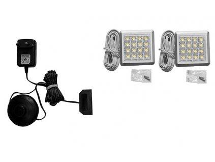 2 - bodová LED světla IZLED08-02