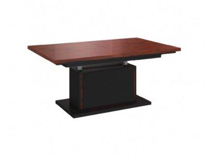 Rozkládací jídelní stůl III E pneumatický ELEGANTE lesk