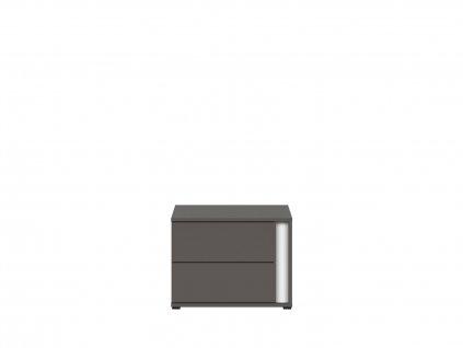 Noční stolek GRAPHIC KOM2SL/C - 2 barvy