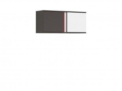 Závěsná skříňka GRAPHIC SFW2D/86/38/B