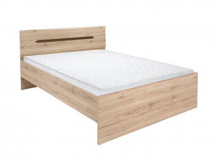 Vyvýšená postel ELPASSO LOZ/160_B - 2 barvy