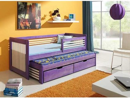 Dětská postel s přistýlkou ANATOL