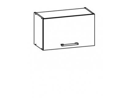 Horní skříňka digestořová 60 MODENA MD7/G60o MDF