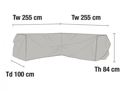 Ochranná plachta pro rohové sedačky