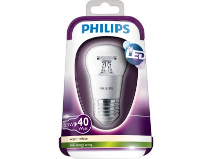 Philips, LED 40W E27 WW 230V P45 CL ND/4, 8718696505762