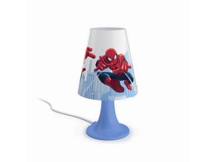 Philips, Spider-Man LAMPA STOLNÍ 1x23W SELV, 71795/40/16
