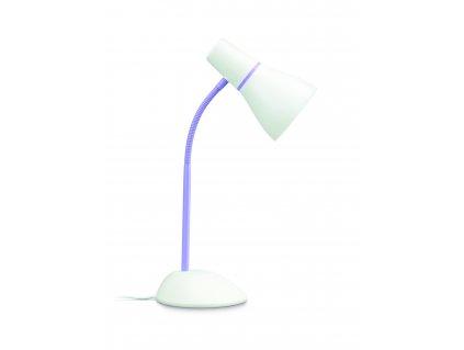 Philips, PEAR stolní lampa fialová 1x11W, 71567/96/PN