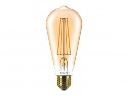 Philips FILAMENT Classic LEDbulb DIM 7-55W E27 825 ST64, 8718696575710