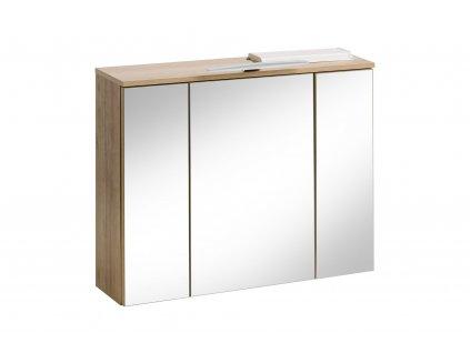 zrcadlova skrinka remik oak 843 a