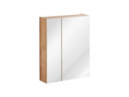 zrcadlova skrinka capri oak 842 c