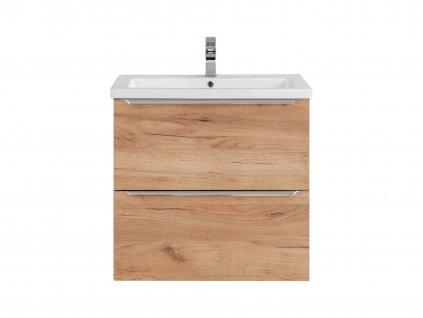 koupelnova skrinka pod umyvadlo capri oak 820 b