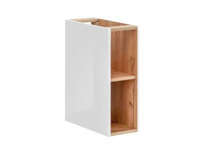 koupelnova skrinka nizka capri white 810 a