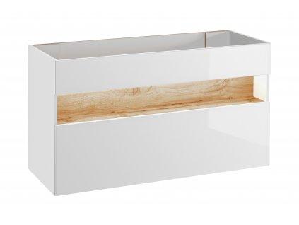 koupelnova skrinka pod umyvadlo bahama white 854 c
