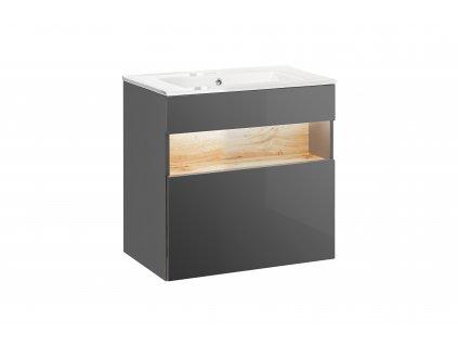 koupelnova skrinka pod umyvadlo bahama grey 820