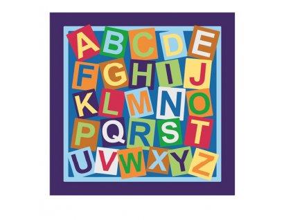 detsky koberec abeceda d