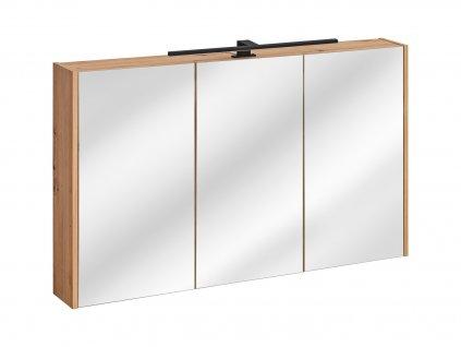 zrcadlova skrinka madera white 843