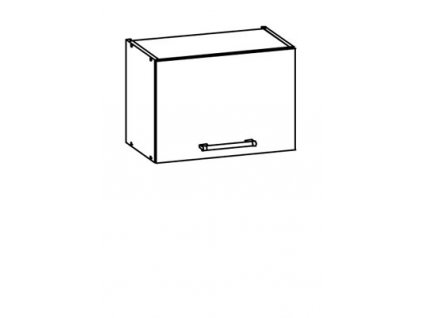Horní skříňka digestořová 50 MODENA MD6/G50o