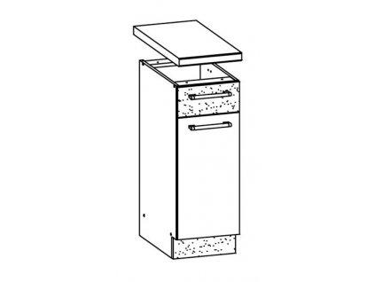 Dolní skříňka LP 30 MODENA MD12/D30S1