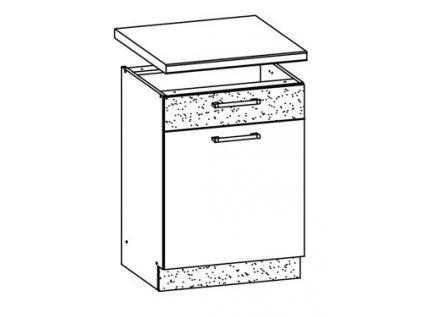 Dolní skříňka MODENA MD16/D60S1
