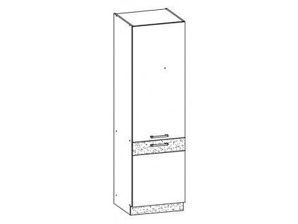 Potravinová skříň LP 60 MODENA MD22/D60C