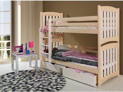 Dětská patrová postel SERAFIN