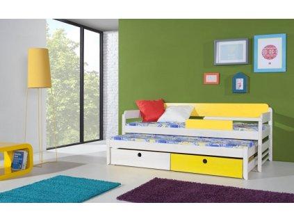 Dětská postel NATU I s přistýlkou