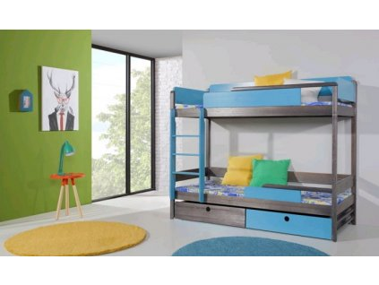 Dětská patrová postel NATU II