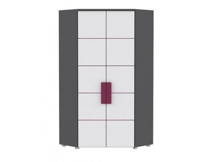 Šatní skříň rohová LIBELLE LBLS89