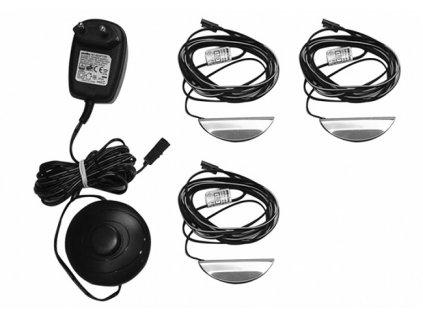 3 - LED podsvícení do skleněný polic