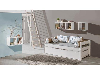 Dětská postel BORYS se šuplíkem B1+B2
