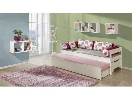 Dětská postel BORYS s přistýlkou B1+B3