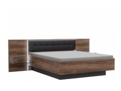 Postel + noční stolky BELLEVUE BLQL161B  160x200 cm