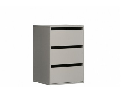 Vestavná komoda TWTK23-A06 do šatní skříně s posuvnými dveřmi